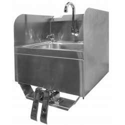 Splash Guard Hand Sink With Towel And Soap Dispenser Gsw