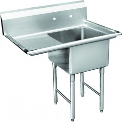 Economy 1 Compartment Sink - Left Drain Board