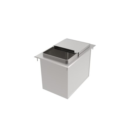 Stainless Steel Drop-In Ice Bin