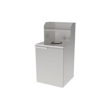 Stainless Steel Trash Bin Cabinet