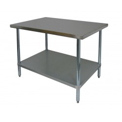Premium Work Table - All Stainless Steel