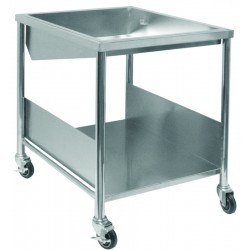 Stainless Steel Donut Glazing Table