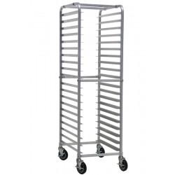 Knock-Down Aluminum Bun Pan Rack