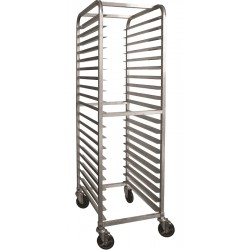 All Welded Aluminum Bun Pan Rack