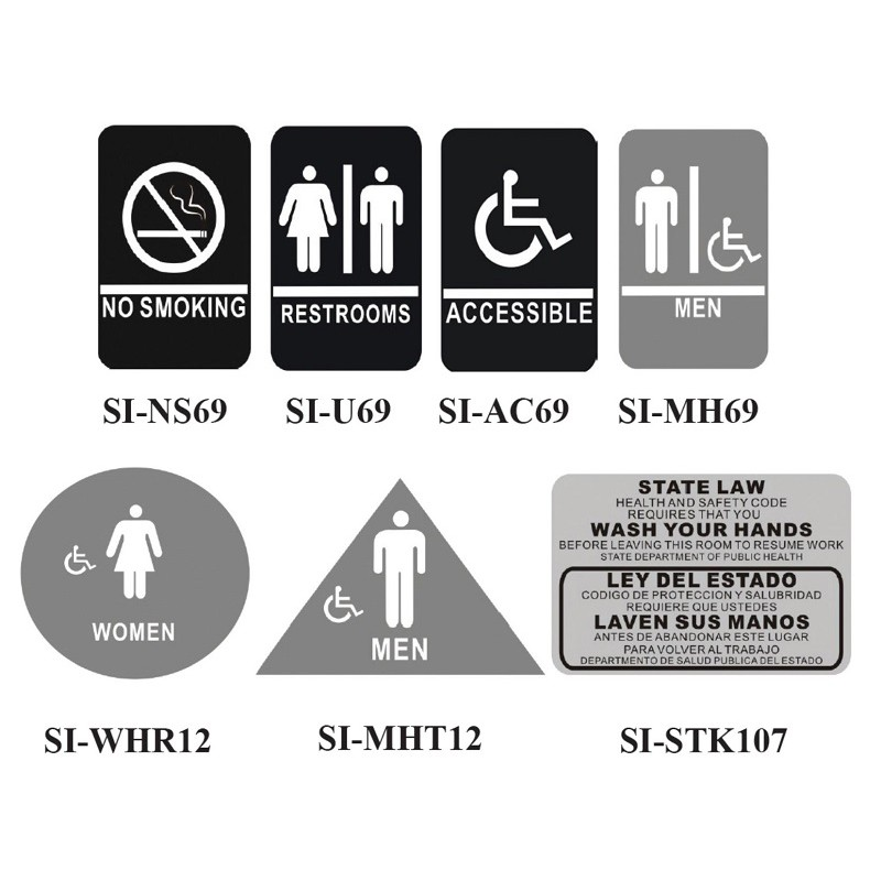Contemporary Symbol Signs Gsw