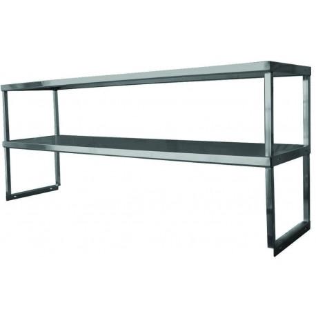 Stainless Steel Heavy Duty Double Over Shelf Gsw