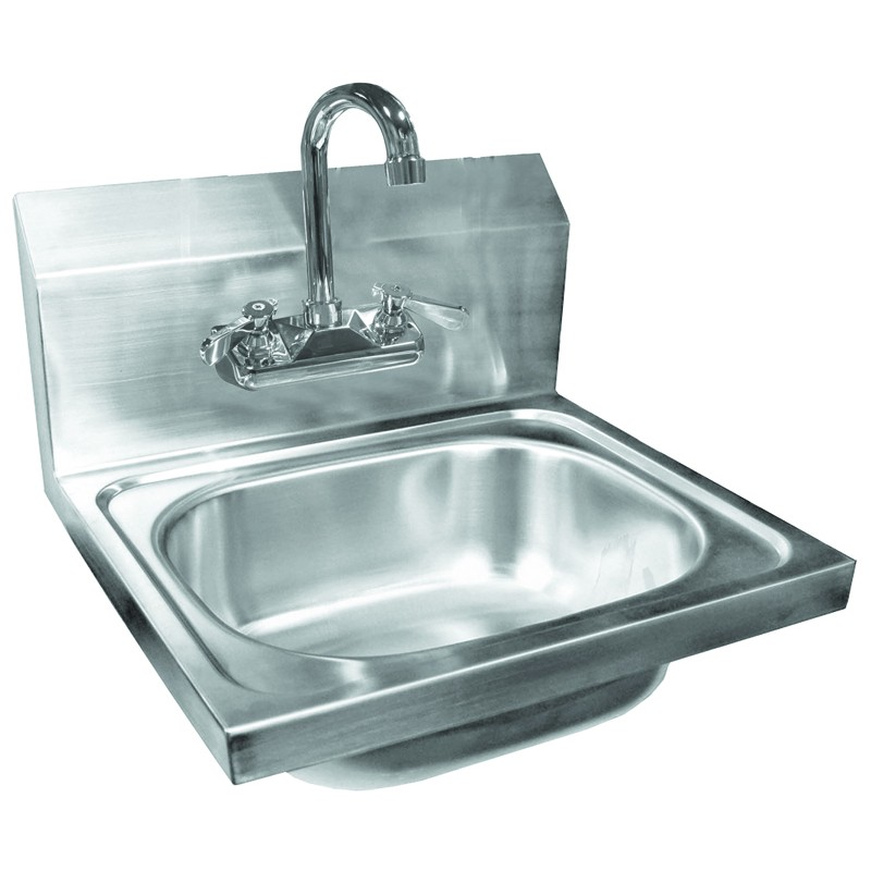 Stainless Steel Wall Mount Hand Sink With No Lead Faucet