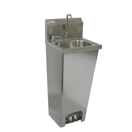 Foot Operated Hand Sink With Faucet Amp Soap Dispenser Gsw