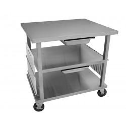 Stainless Steel Multi-Functional Work Top Cart