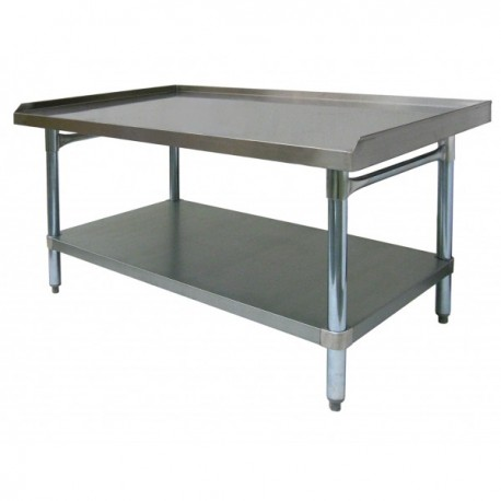 Stainless Steel Commercial 3 Side Upturn Table