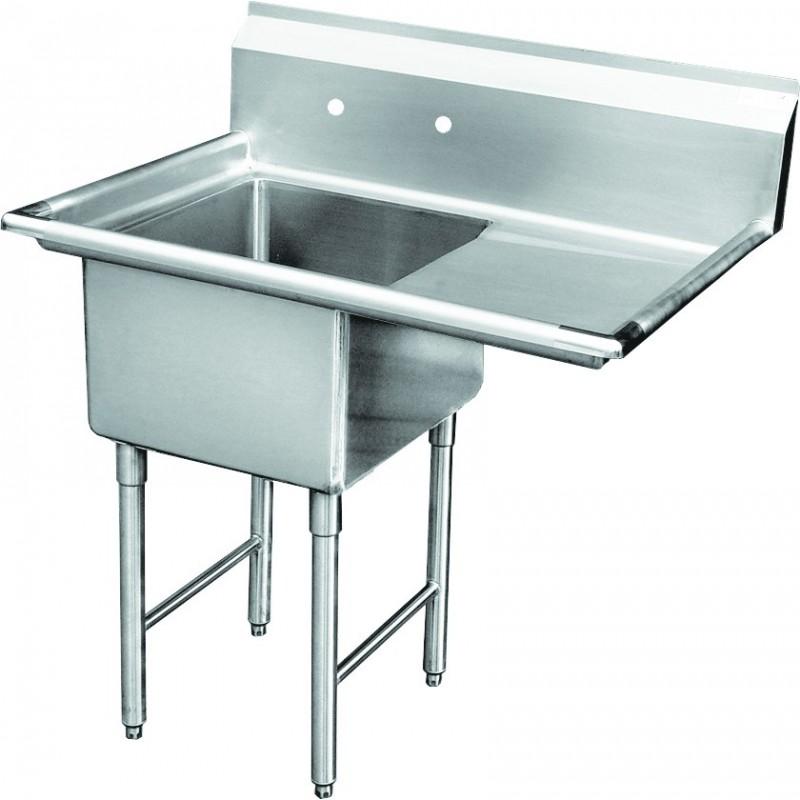 1 Compartment Sink - Right Drain Board - GSW