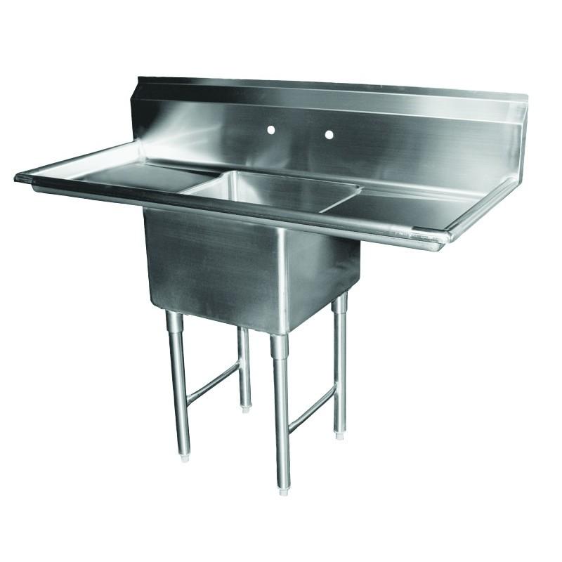 1 Compartment Sink - 2 Drain Boards - GSW