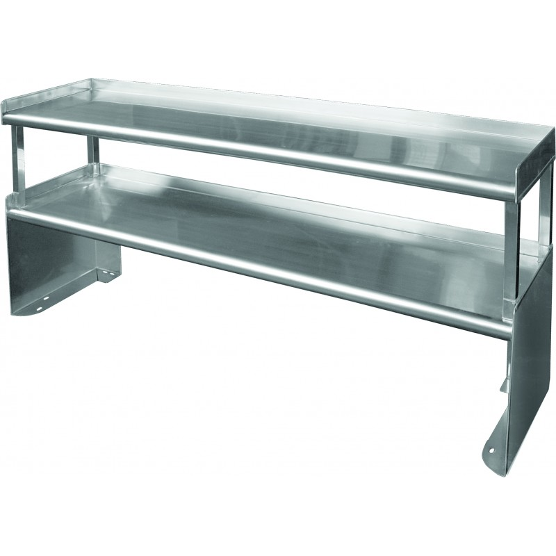 Stainless Steel Special Double Over Shelf Gsw