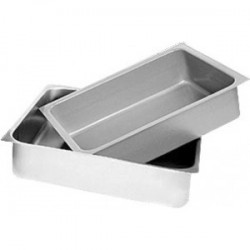 Stainless Steel Pans for Table Drawers