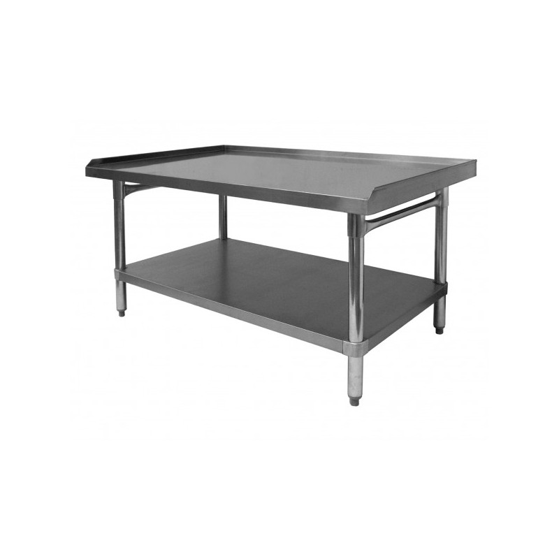 Stainless Steel Professional Welded 3 Side Upturn Table