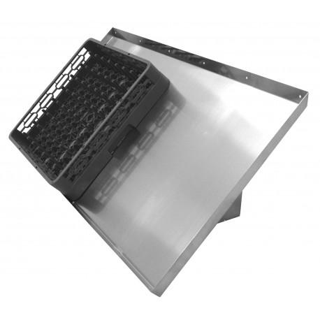 Wall Mount Shelf for Glass Rack