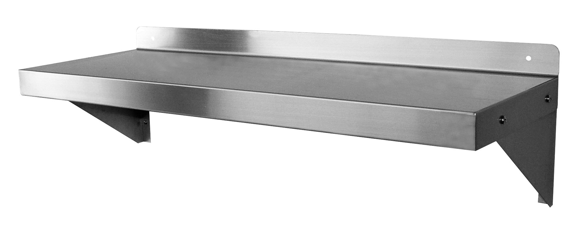 Stainless steel wall mount shelf gsw