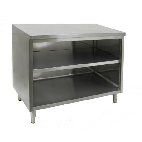 Flat Top Enclosed Work Table - No Door