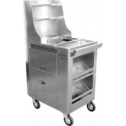 Stainless Steel Boil Cart