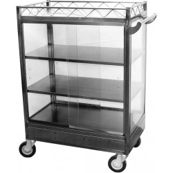 Stainless Steel Dim Sum Cart