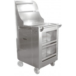 Stainless Steel Fry Cart