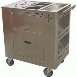 Stainless Steel Gruel Cart