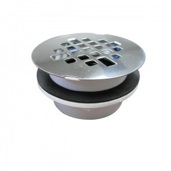 Plastic Snap-On Shower Drain
