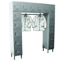 16 Doors Wall-Mounted Locker