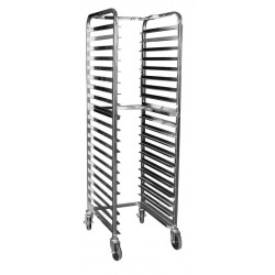 All Welded Aluminum Space Saver Pan Rack
