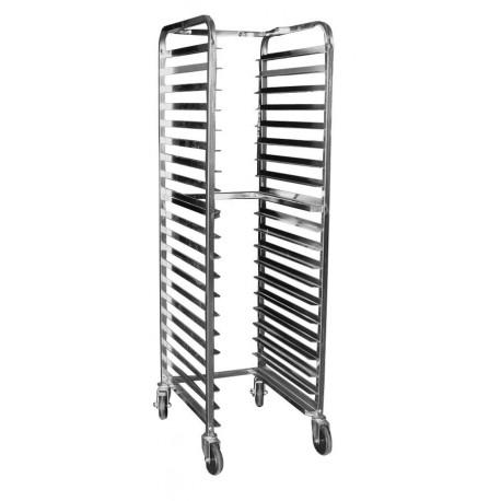 All Welded Aluminum Space Saver Pan Rack