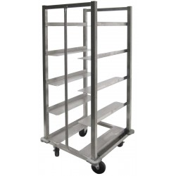 All Welded Stainless Steel Oval Tray Rack