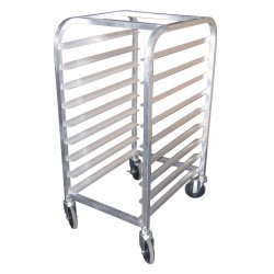 All Welded Aluminum Half Size Pan Rack