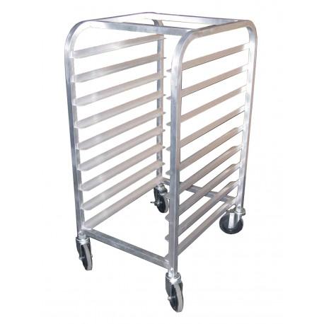 All Welded Aluminum Half Size Pan Rack