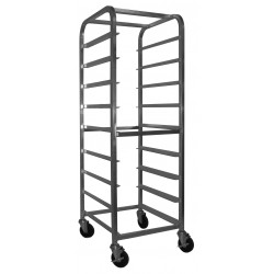 All Welded Aluminum Glass Rack