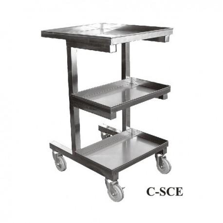 Adjustable Height Sauce Cart