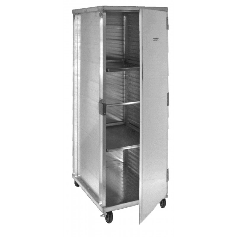 All Welded Aluminum Enclosed Mobile Pan Cabinet Gsw