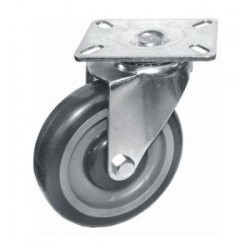 Swivel Plate Casters - Non Brake