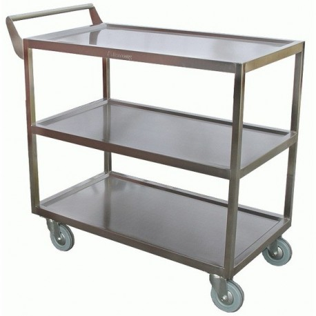 Merveilleux View Larger. Previous. C 4111 · Stainless Steel Heavy Duty Cart ...