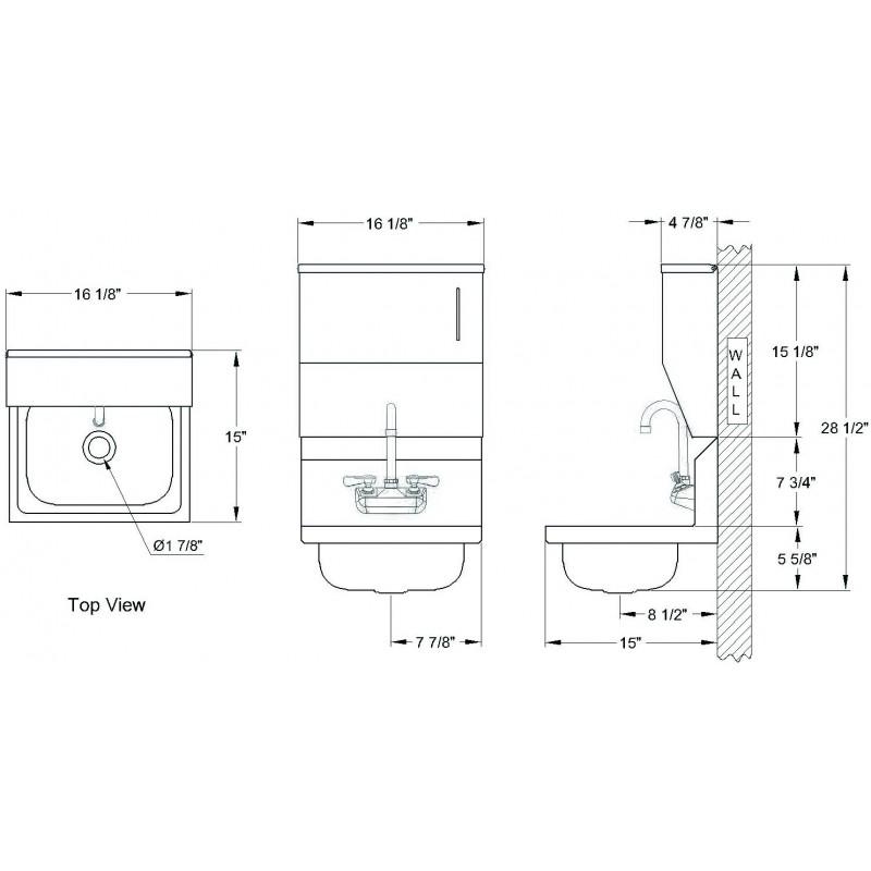 Diagram Hand Sink House Wiring Diagram Symbols