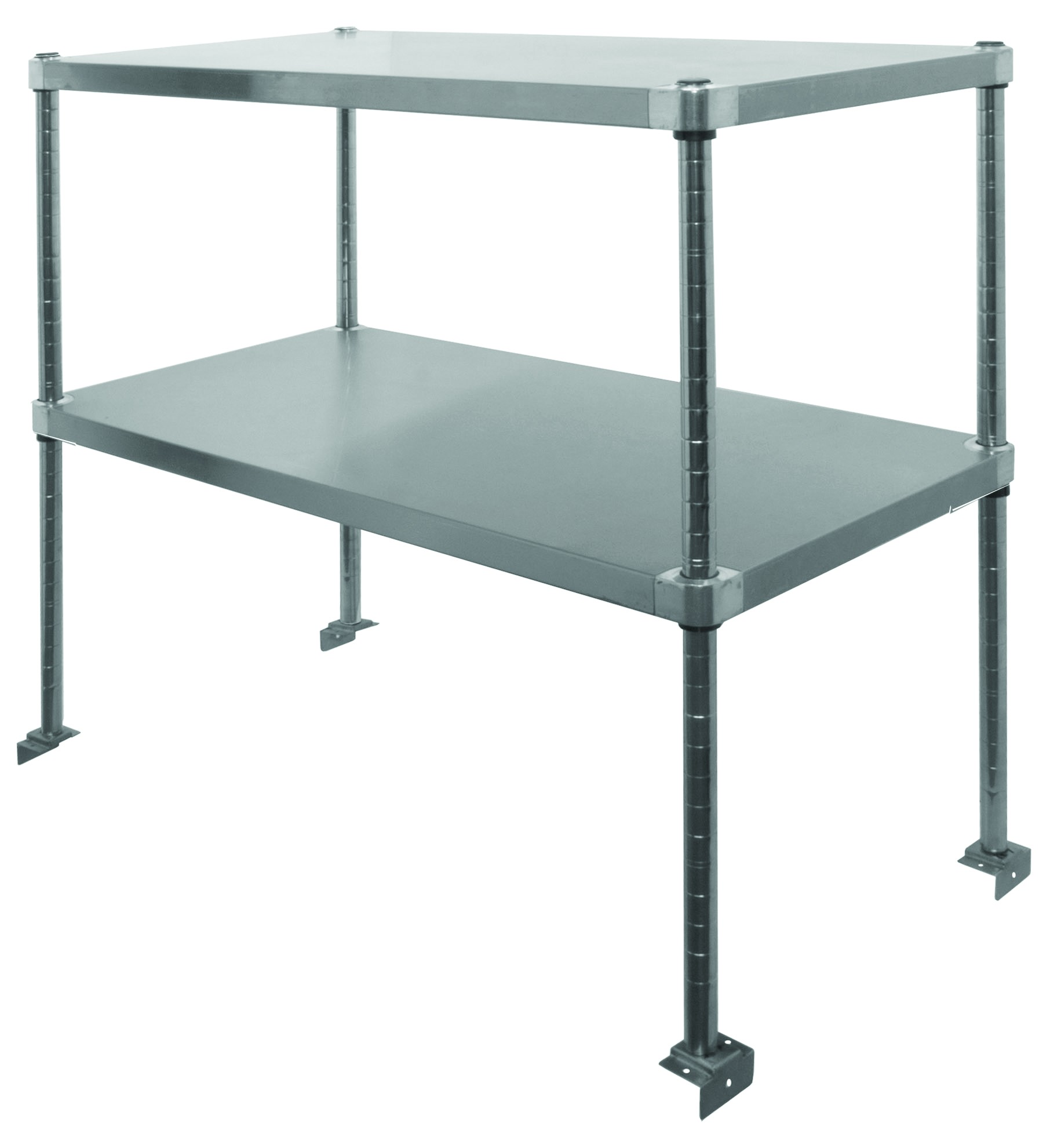 Stainless Steel Adjustable Double Over Shelf - GSW