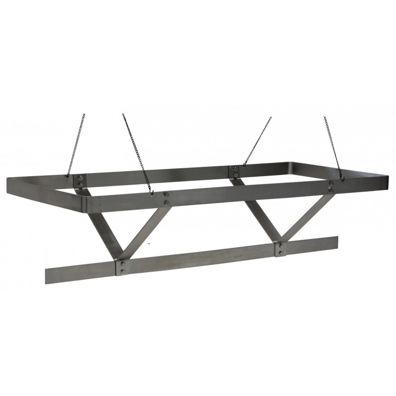 Stainless Steel Ceiling Mount Pot Rack Gsw