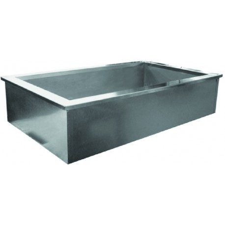 Stainless Steel Ice Cool Cold Pans