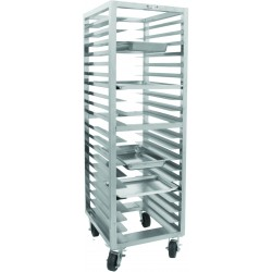 All Welded Stainless Steel Universal Bun Pan Rack
