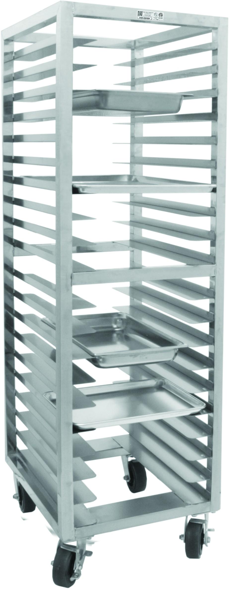All Welded Stainless Steel Universal Bun Pan Rack - GSW