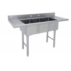 Marine Edge Three Compartment Mini Sink
