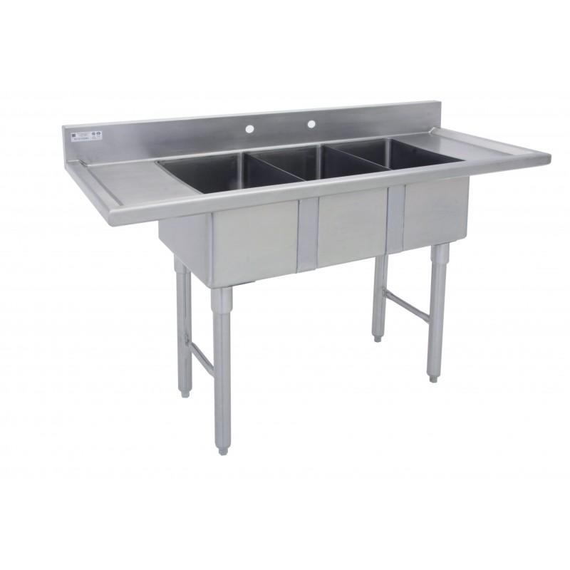 Marine Edge Three Compartment Mini Sink Gsw