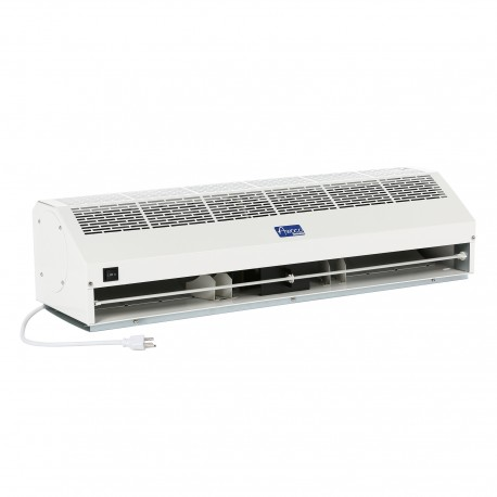 Super Power Commercial Air Curtains - Metal White Case