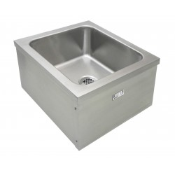 Stainless Steel Floor Mount Mop Sinks