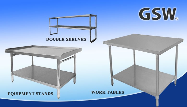 Work Tables, Equipment Stands