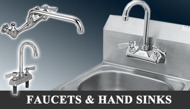 Hand Sinks, Faucets